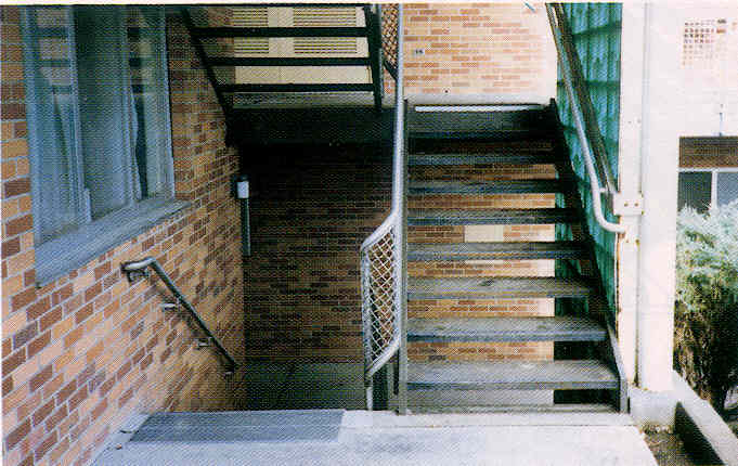 Major Metal Cast Aluminum Or Cast Iron Abrasive Stair