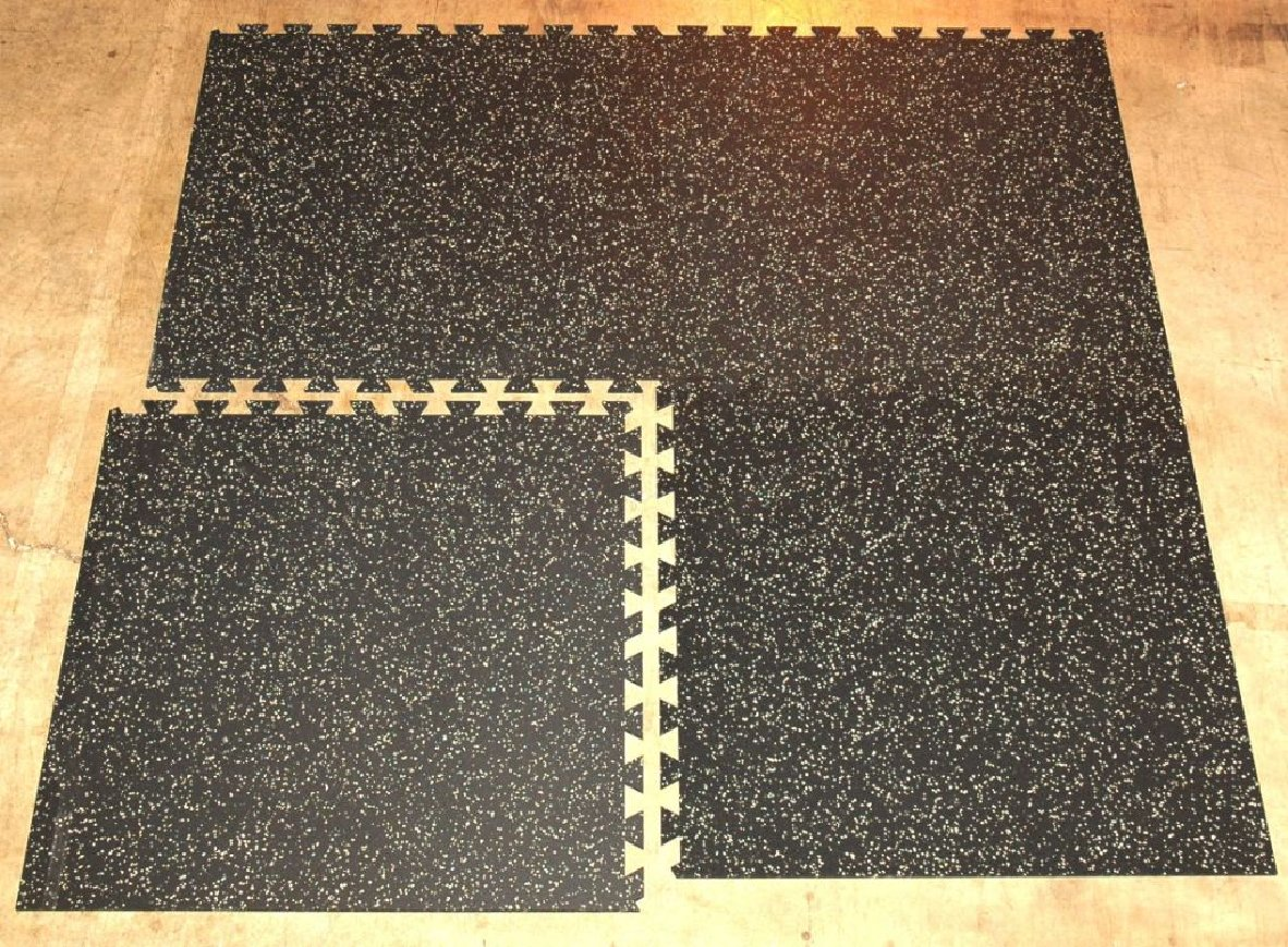 Interlocking Rubber Floor Tiles Kitchen